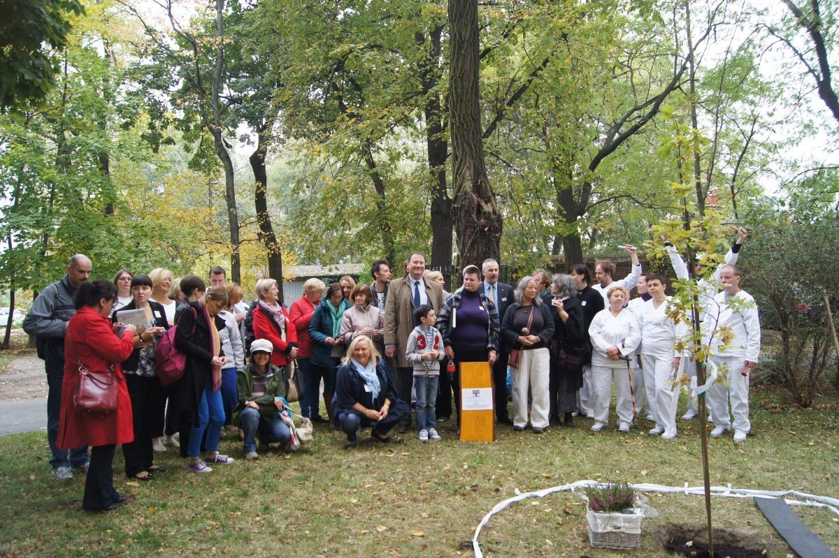 Ceremonia sadzenia Drzewa Wolności